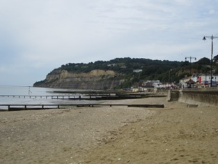 Shanklin beach and esplanade