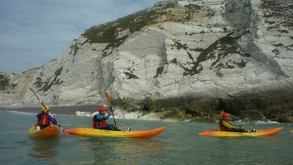 Kayaking at Freshwater Bay