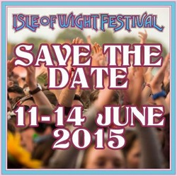 Isle of Wight Festival 2015 save the date