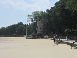 Appley Tower in Ryde on a sunny day