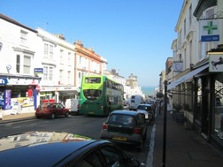 Cars parked on Union Street in Ryde