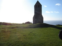 The Pepperpot lighthouse on the Isle of Wight