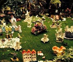 Fairies at the Old Thatch Teashop in Shanklin Old Village
