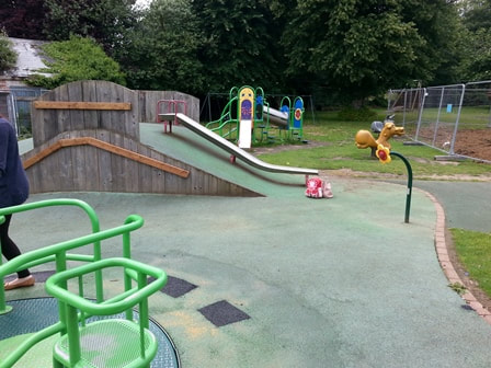 Puckpool playground in Ryde
