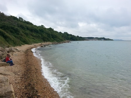 Gurnard's hidden beach