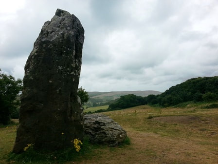 The Longstone on the Isle of Wight