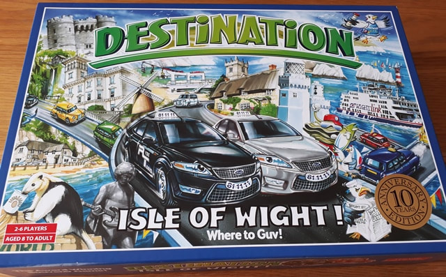 Destination Isle of Wight box