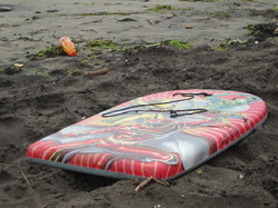 A child's Bodyboard