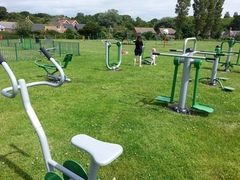 Outdoor gym in Freshwater