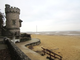 Appley tower at Appley beach, Ryde