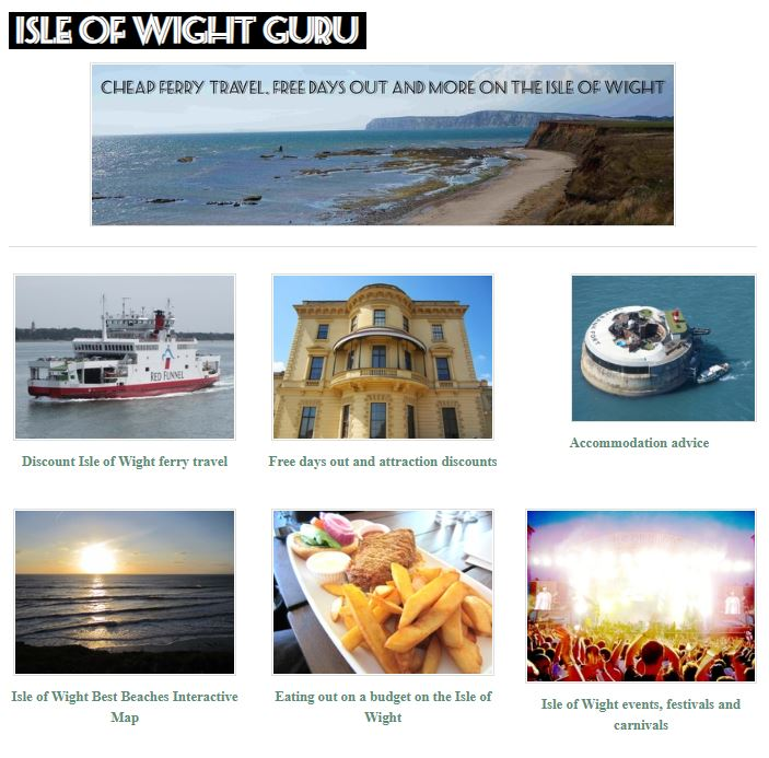 First Isle of Wight Guru website