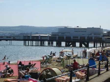 Sandown Pier and Bay