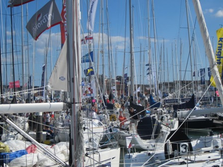 Yachts at Cowes Week