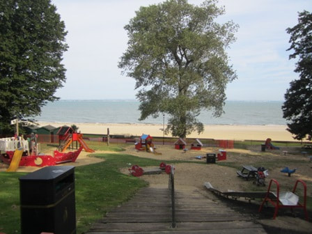 Appley playground in Ryde