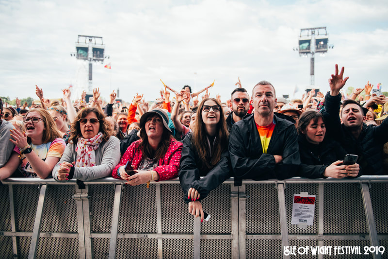 Crowd at Isle of Wight Festival 2019