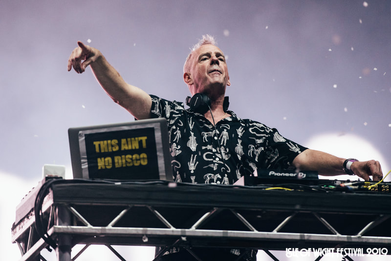 Fatboy Slim at Isle of Wight Festival 2019