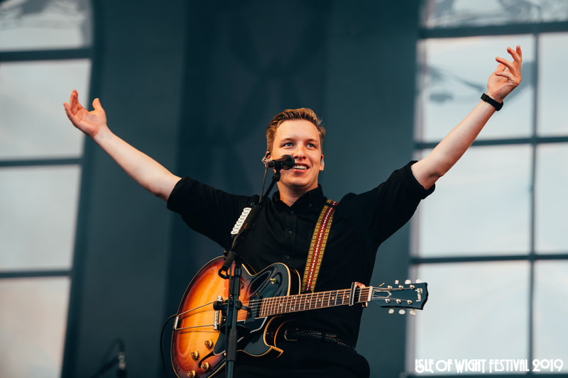 George Ezra at Isle of Wight Festival 2019