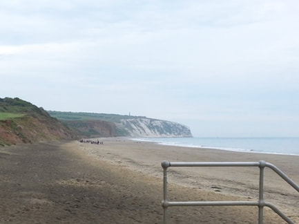 Yaverland beach near Sandown