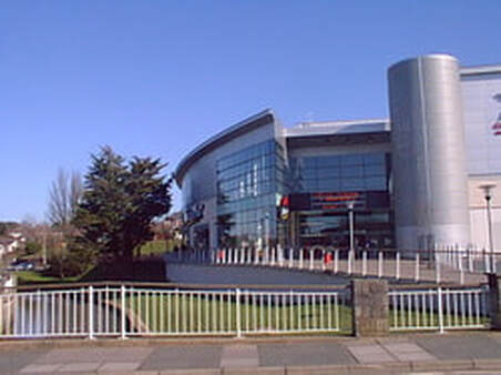 Cineworld Newport Isle of Wight from outside