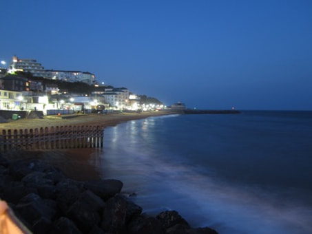 Ventnor at night