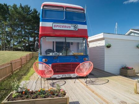 Spicebus on the Isle of Wight